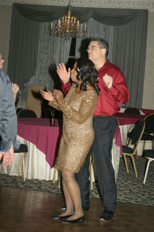 Anthony and wife on the dance floor