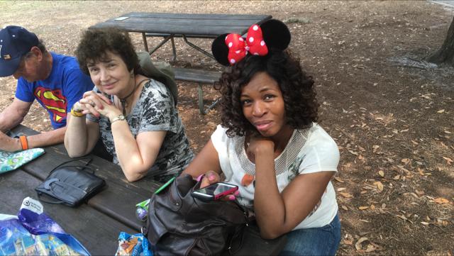 Way cuter than Minnie. Monica Mouse.