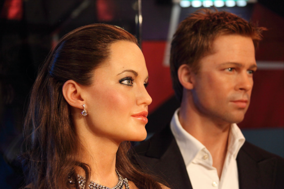 Anthony Beyer's photo of Angelina Jolie and Brad Pitt
