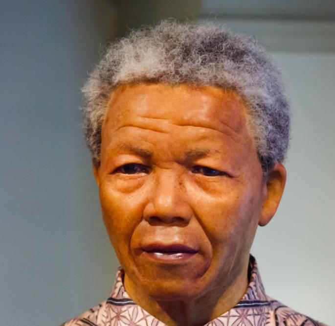 Anthony Beyer's photo of Nelson Mandela